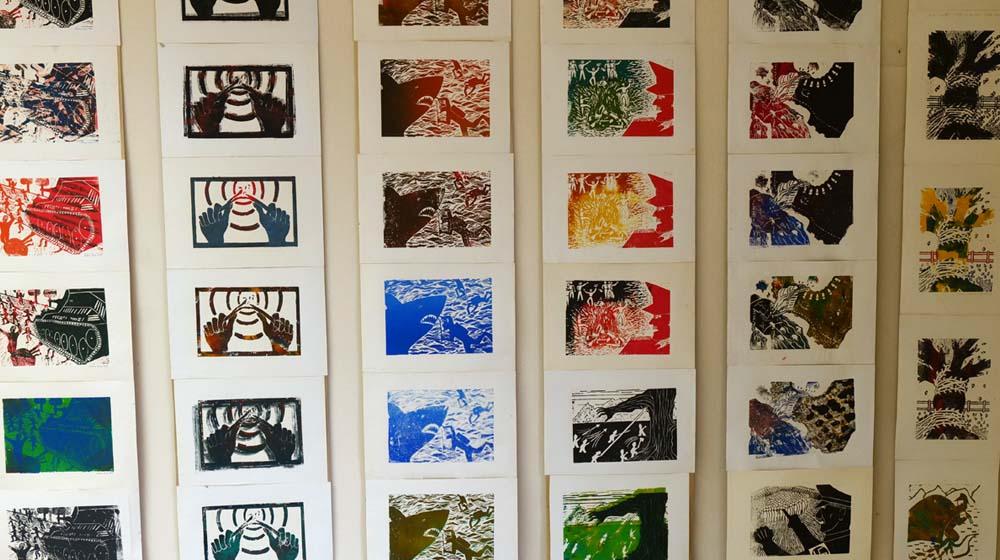 1. Druck Kunst Festival Sinzig – BBK-Ausstellung in der Alten Druckerei