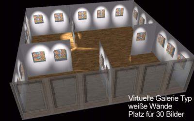 3D-Galeriefilme – Virtuelle Präsentation Ihrer Kunstwerke