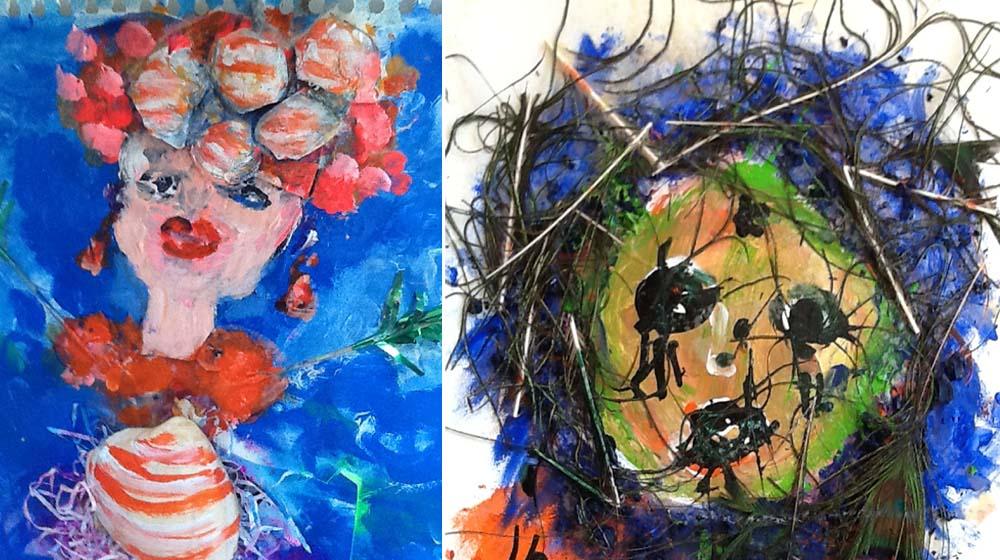 Hendrina Krawinkel – Kopfgeburten – Virtuelle Galerie
