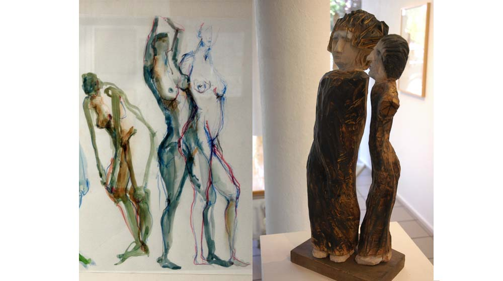 vis-á-vis – Michael Tauchert, Brigitte Weichert – Kunstverein Bad Godesberg