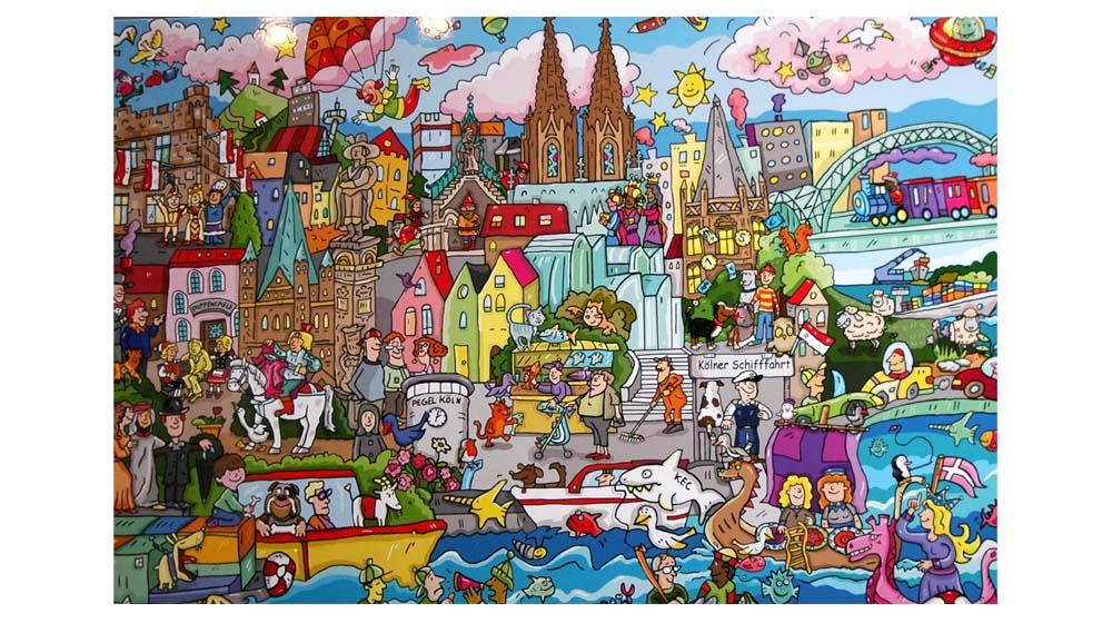 Frauen-Power – Sechs Kölner Künstlerinnen zeigen ihre Werke – Kulturkirche Ost, Köln