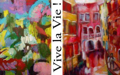 """Vive la vie!"" Ausstellung Monique Jacquemin / Jany Ohlraun – in der Galerie MOJA"