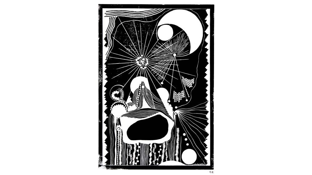 """""""Ode an die Freude"""" – Linolschnitt-Zyklus von Helene Ramershoven – Virtuelle Galerie"""