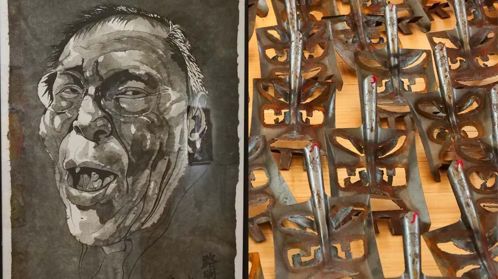 REN RONG / FANG LIJUN – Ausstellung im Kunstraum Villa Friede, Bonn