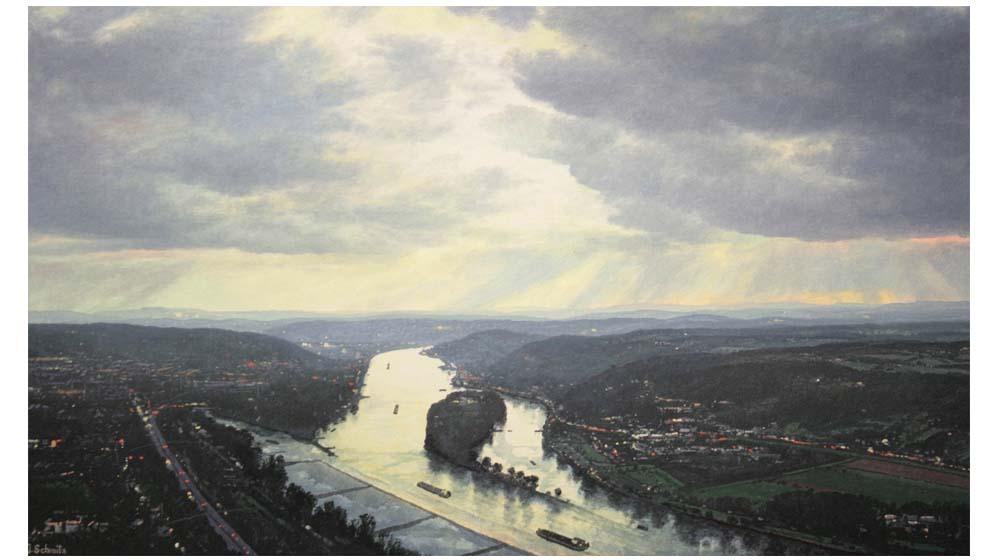 Rheinische Landschaften – Ölgemälde von Jürgen Schmitz – Virtuelle Galerie