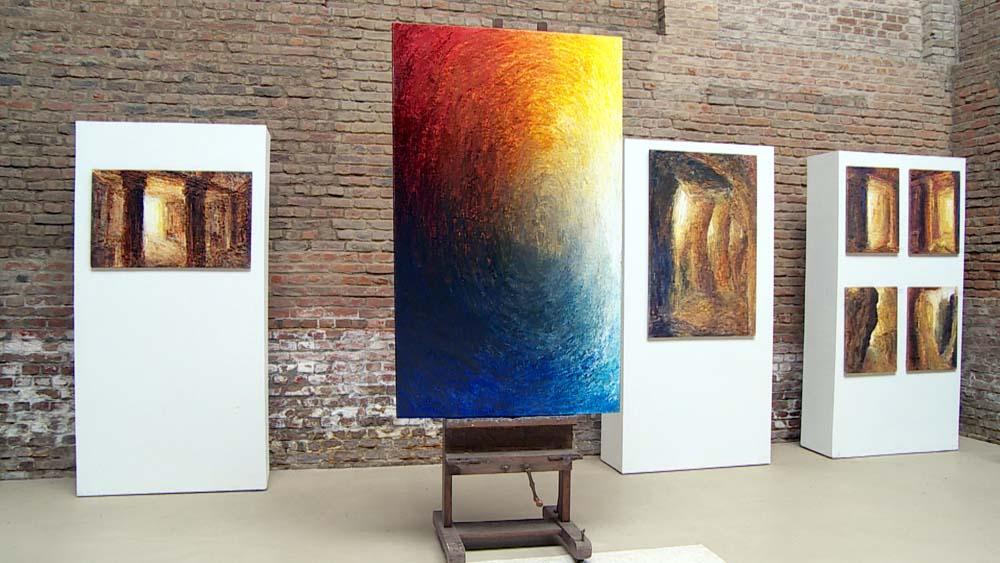 Michael Franke: Ein Bilderzyklus zum siebenhundertsten Todestag von Dante Alighieri