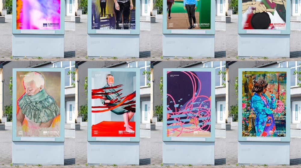 Kunst findet Stadt – Ein Projekt des Kunsthauses Troisdorf
