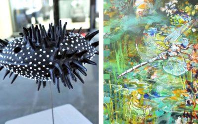 Wasserwelten – Gudrun Lüpke-Dolny / Kirsten Treis – Ausstellung Glaskarree Bad Godesberg
