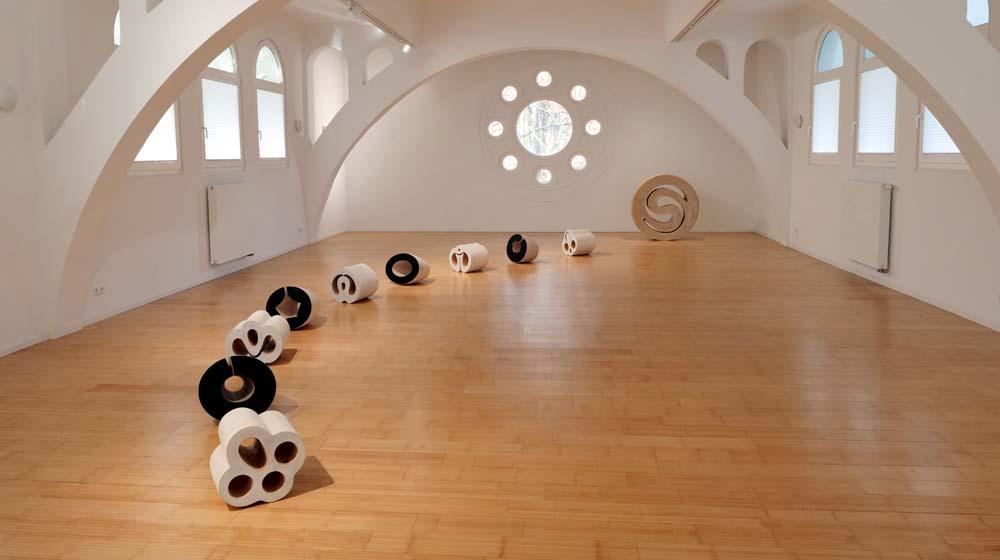 Kunstraum Villa Friede, Bonn – Ausstellung mit Dominique Chapuis, Edgar Diehl, Götz Sambale