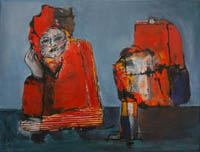 Helga Knauth: Die Wartende