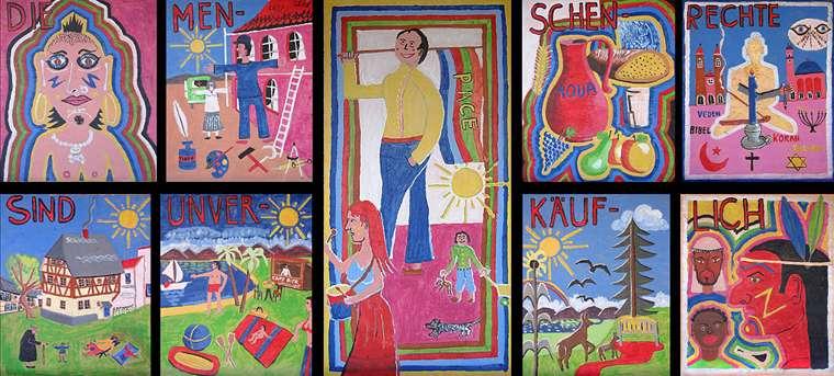 Helmut Scharf: Menschenrechtszyklus