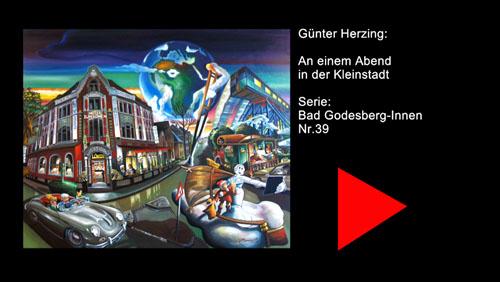 Günter Herzing – An einem Abend in einer Kleinstadt