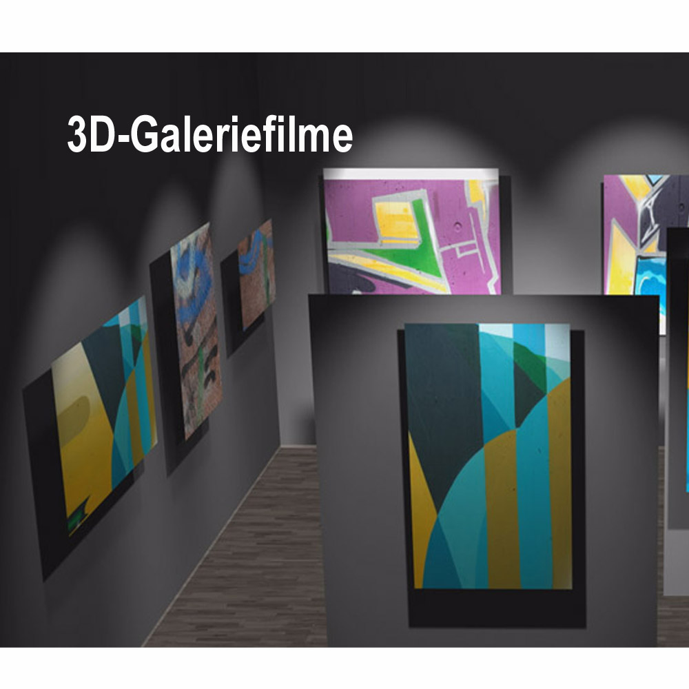 3D-Galeriefilme – Zeitgemäße Präsentation Ihrer Kunstwerke