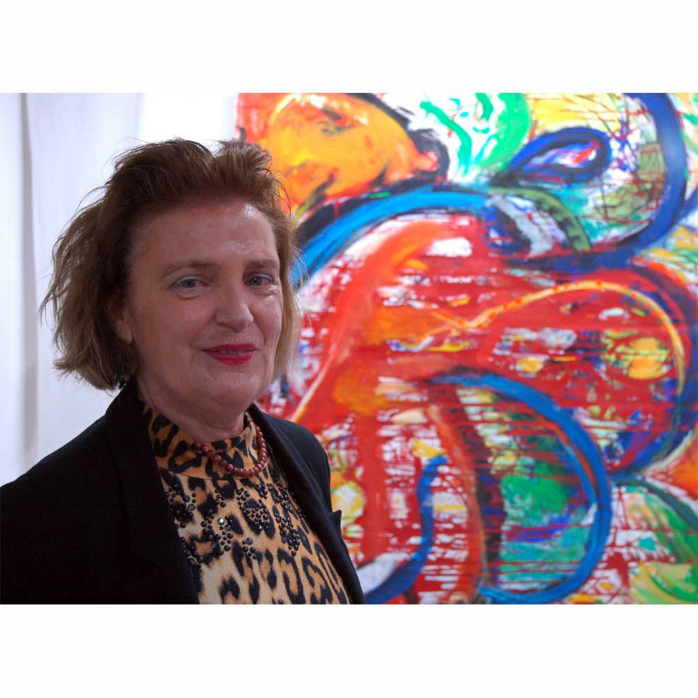 Galerie Rosemarie Bassi zeigt künstlerisches Œuvre  von Hendrina Krawinkel
