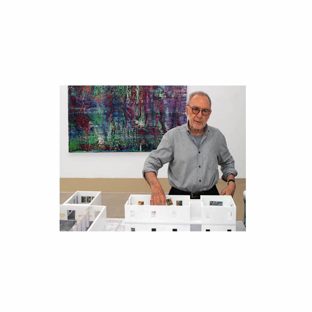 Gerhard Richter im Museum Barberini in Potsdam