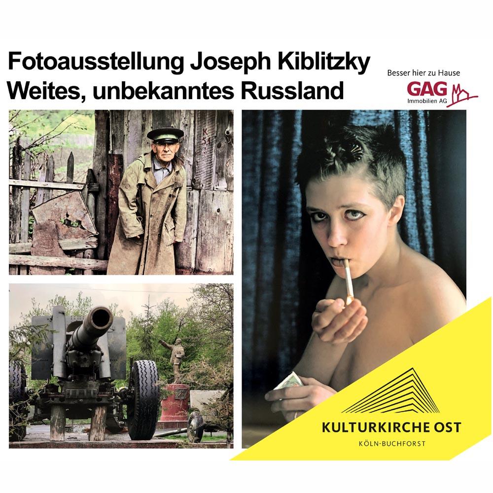 Joseph Kiblitsky – Weites unbekanntes Russland – Ausstellung Kulturkirche Köln Ost