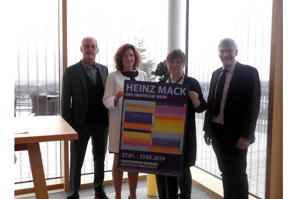 """KSI und Stadtmuseum Siegburg zeigen """"Heinz Mack – Das Grafische Werk"""""""