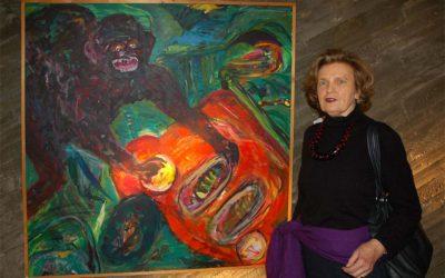 Hendrina Krawinkel – Mitten ins Herz – Ausstellung in der Kulturkirche Köln Ost