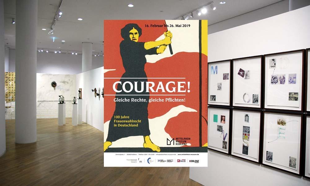 Courage! – Das Thema Frauenwahlrecht im Mittelrheinmuseum