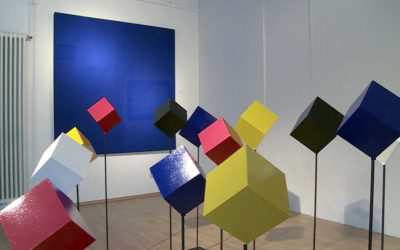 Bertamaria Reetz – Tektonische Tableaus – Ausstellung Galerie Heidefeld & Partner