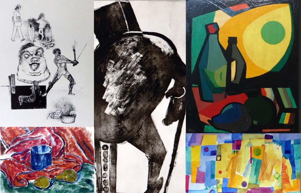 Ausstellung erinnert an fünf Bonner Künstler
