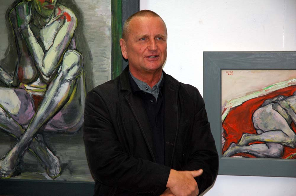 Künstlergespräch mit Hubertus Giebe