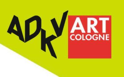 ADKV Art Cologne Preise für Kunstkritik und Kunstvereine