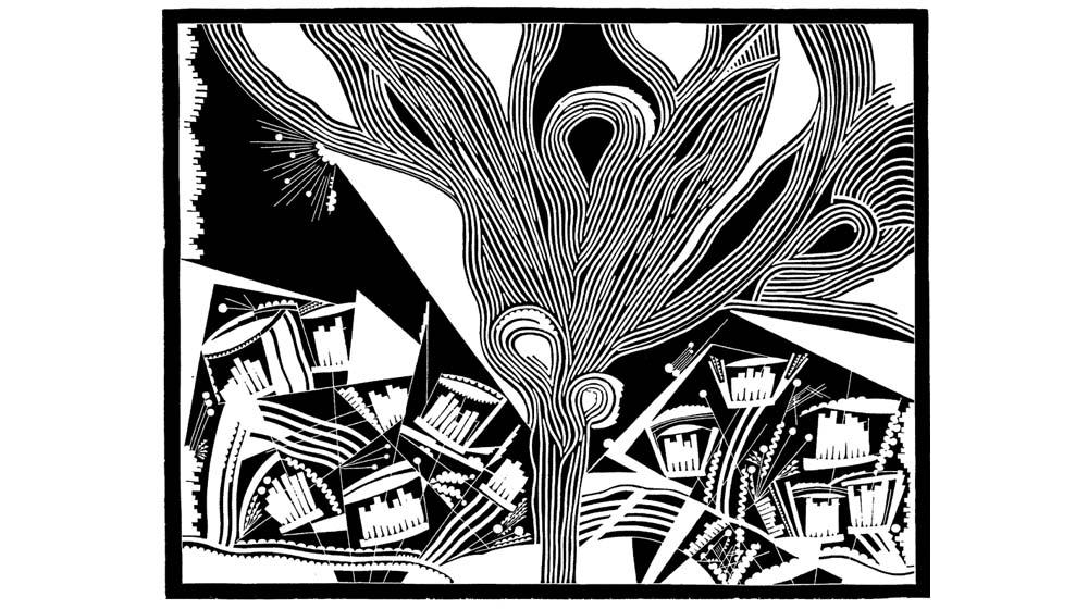 Helene Ramershoven – Linolschnitte zur Umwelt – Virtuelle Galerie