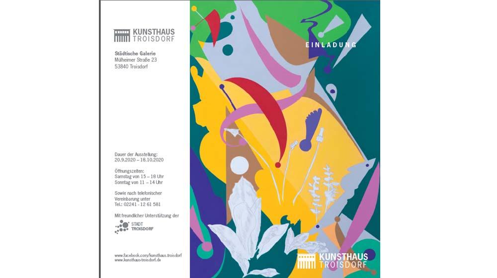 Ausstellung: Kazem Heydari – Retrospektive – Kunsthaus Troisdorf – 20.9. – 18.10.2020