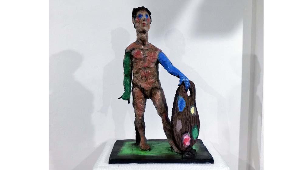 Eine echte Markus-Lüpertz-Skulptur (Bozzetto) kaufen