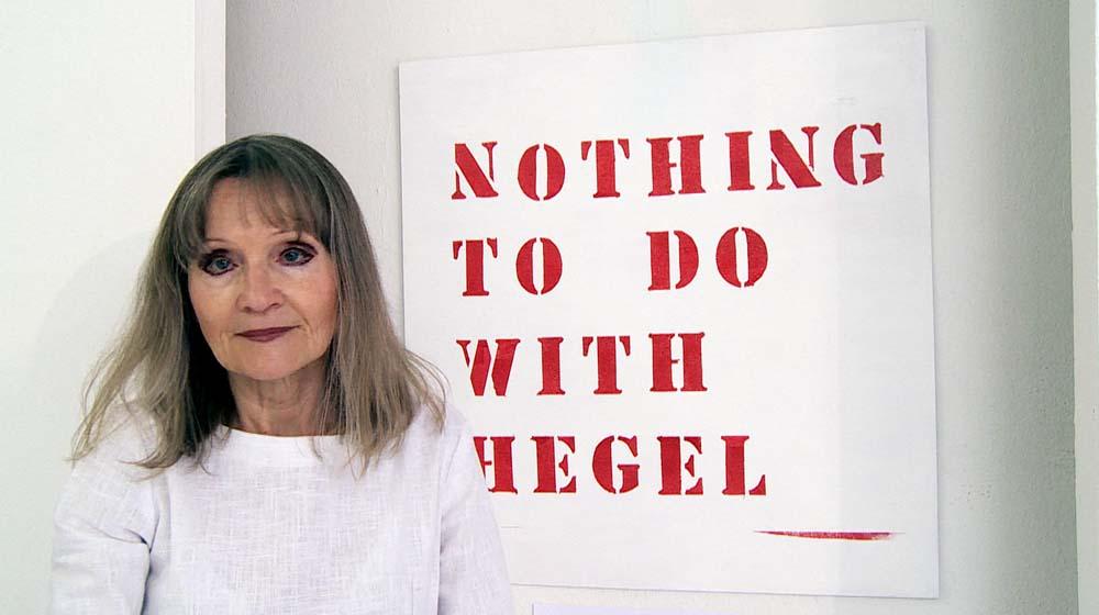 """""""Nothing to do with Hegel"""" Performance von L.Nedovic-Hesselmann, Sieglinde Schneider – Frauenmuseum"""